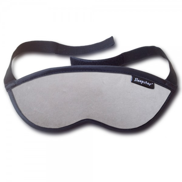 Orion Deluxe Eye Mask - Silver