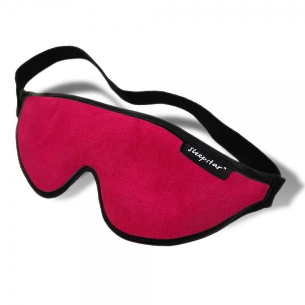Stellar Deluxe Sleep Mask - Cherry Red