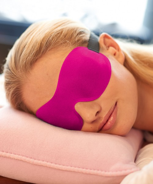 Ohropax Sleep Mask 3D Pink