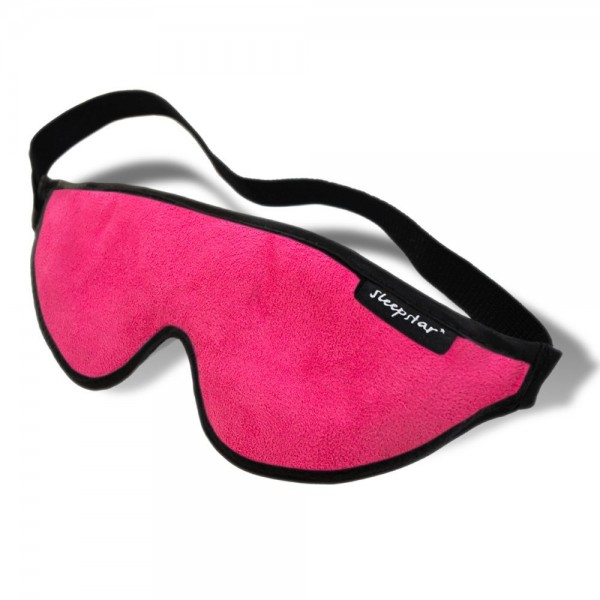 Stellar Deluxe Sleep Mask - Hot Pink